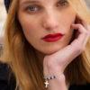 Bracelet Faith bleu en argent et lapis lazuli Natacha Audier Paris