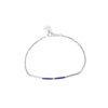 Bracelet Infinity en lapis lazuli et argent Natacha Audier Paris