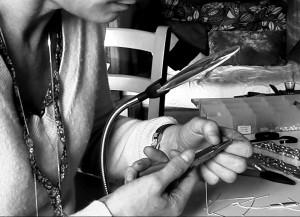 fabrication artisanale de bijoux en pierres fines et argent 925