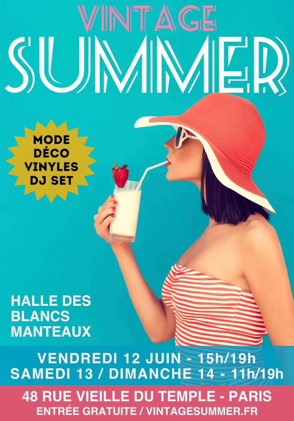 affiche-Summer-Vintage-juin-2015