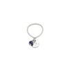 Bague Skin en lapis lazuli et argent massif Natacha Audier Paris