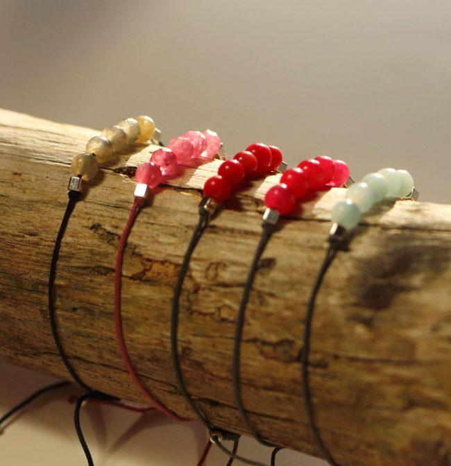Bracelets Aloha à composer soi-même Natacha Audier Paris