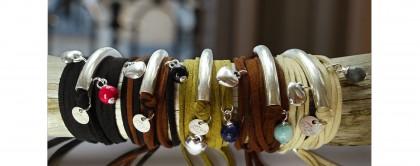 Bracelets Havana à composer Natacha audier Paris