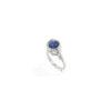 Bague Louise en lapis lazuli et argent massif Natacha Audier Paris