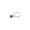 Bague Thelma en lapis lazuli et argent massif Natacha Audier Paris