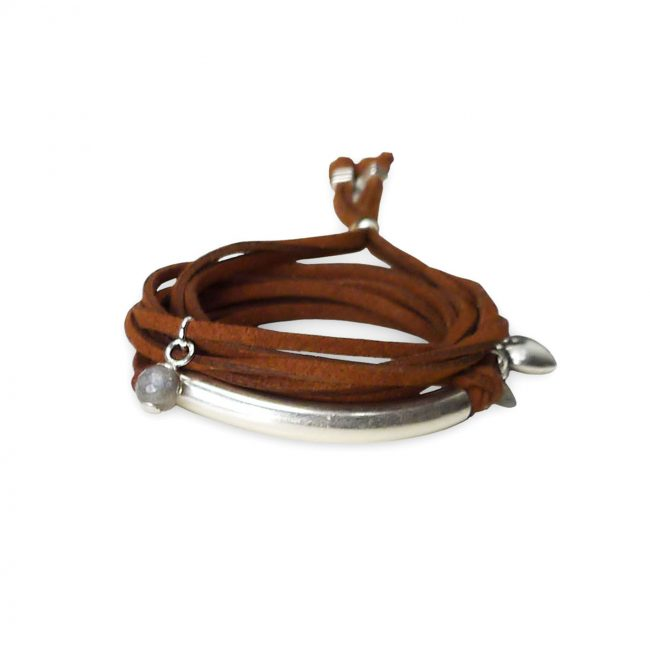 Bracelet Havana marron Natacha Audier Paris