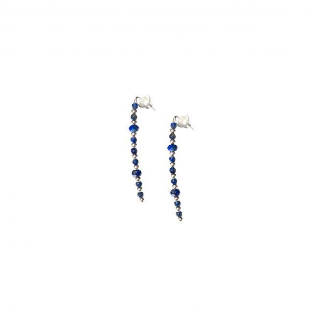 B.O. barrette lapis lazuli Indian spirit Natacha Audier Paris