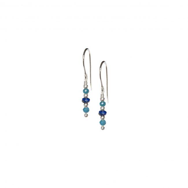 B.O. tige lapis lazuli et apatite Indian Spirit Natacha Audier Paris