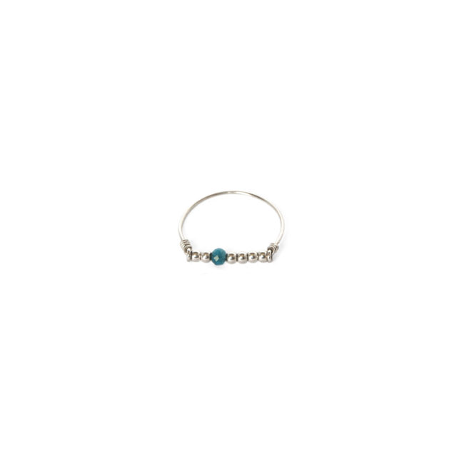 Bague apatite Indian Spirit Natacha Audier Paris
