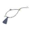 Bracelet aigue-marine et hématite Indian summer Natacha Audier Paris