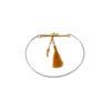 Bracelet jonc en argent massif orange Jazz Natacha Audier Paris