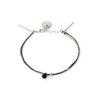 Bracelet onyx noir et argent massif Sweet Jane Natacha Audier Paris