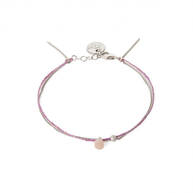 Bracelet opale et argent massif Sweet Jane Natacha Audier Paris