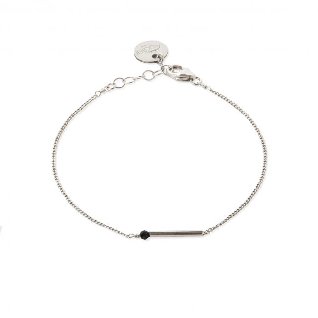 Bracelet spinelle et argent massif My first Natacha Audier Paris