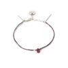 Bracelet tourmaline rose et argent massif Sweet Jane Natacha Audier Paris