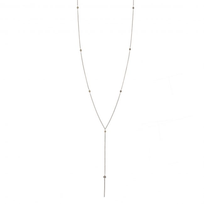 Collier pierre de lune et argent massif My first Natacha Audier Paris