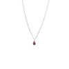 Collier tourmaline rose et argent massif Lady Jane Natacha Audier Paris