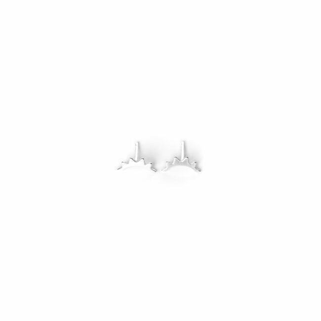 B.O clou aurore en argent massif natacha Audier Paris
