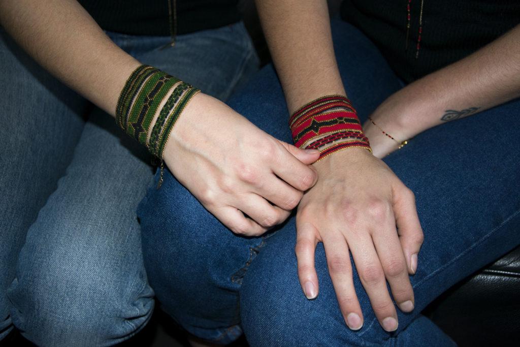 Bracelets gold-filled 14 kt Natacha Audier Paris