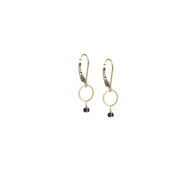 BO mini Diane en spinelle et gold-filled 14k Natacha Audier Paris