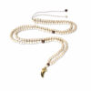 Collier XL dent doré or fin 24k Spirit Natacha Audier Paris